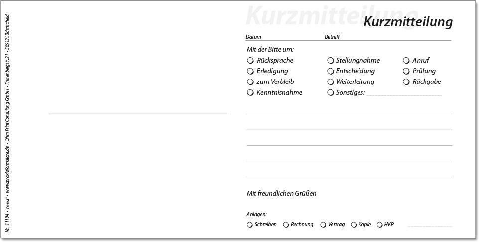 Atemberaubend überweisungsformular Vorlage Zeitgenössisch - Der ...